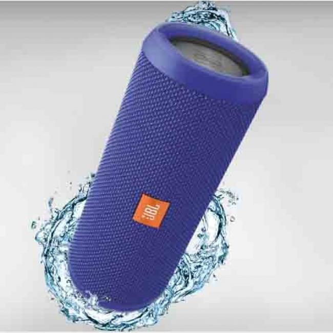Image of JBL Flip Wireless 3 - водонепромокаем безжичен спийкър и микрофон за мобилни устройства, Син, 22724