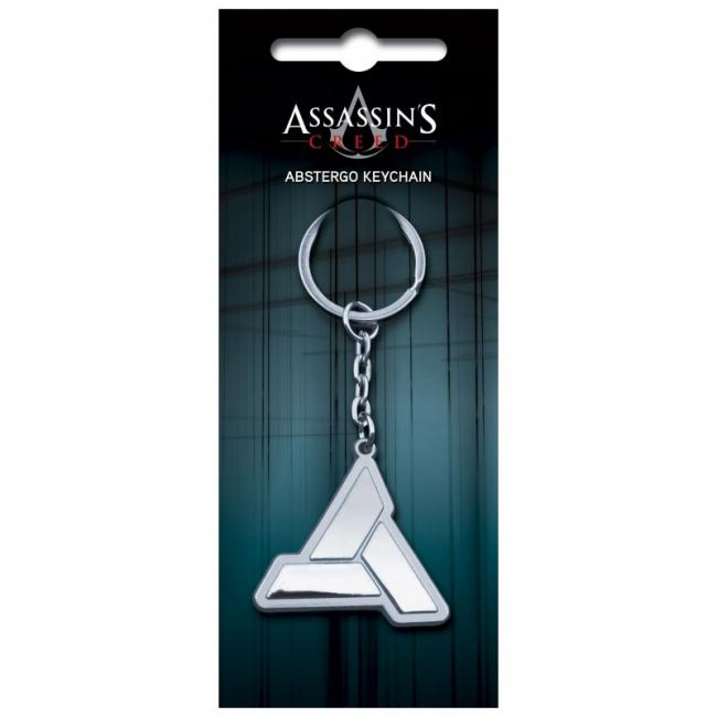 Image of Assassins Creed Keychain: Abstergo Logo
