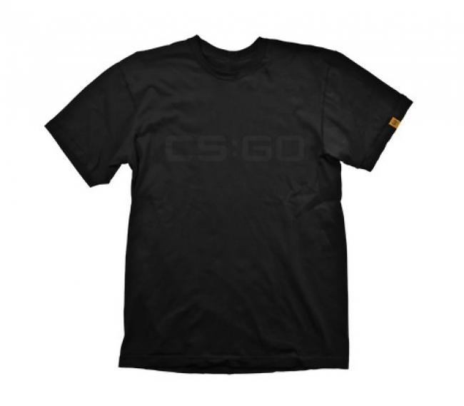 Image of CS:GO T-Shirt Black On Black, Size XL