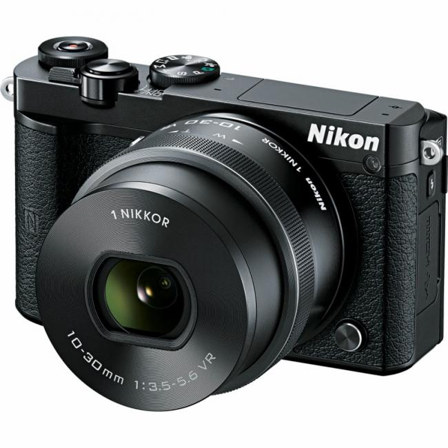 Image of Nikon 1 J5 + 10-30MM PD-ZOOM + подарък 64GB Micro SDXC и READER USB 3.0