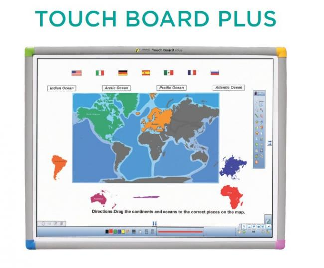 """Image of eInstruction TouchBoard Plus 1078, 78"""""""
