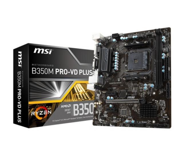 Image of MSI B350M PRO-VD PLUS