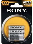 Image of Sony Zinc, R03 ZnCl, R03NUB4A