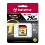Image of 256GB, Transcend UHS-I U3, TS256GSDU3