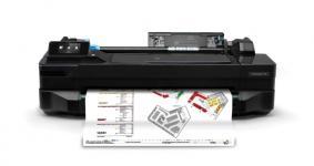 Image of HP Designjet T120 24-in Printer, CQ891C