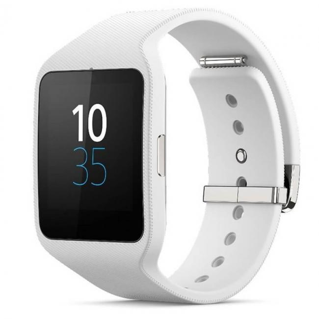 Image of Sony Smartwatch 3 SWR50 - NFC bluetooth тъч часовник за Android смартфони, Бял, 24308