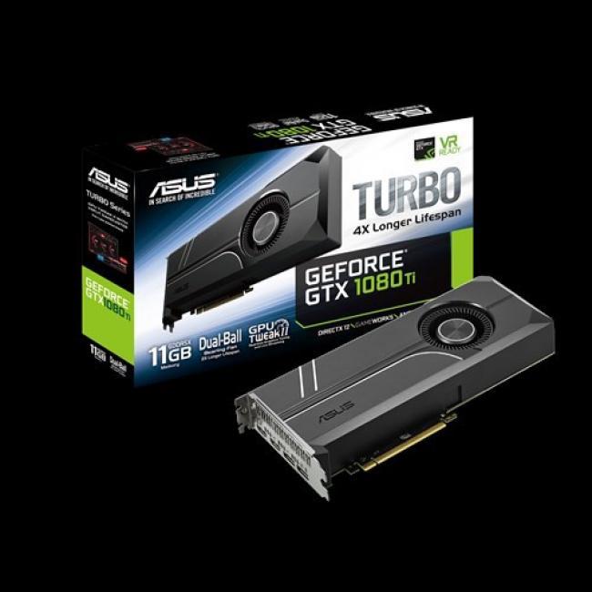 Image of ASUS GTX1080Ti TURBO, 11GB GDDR5X