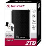 Image of 2000GB, Transcend StoreJet A3, TS2TSJ25A3K