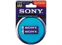 Image of Sony Alkaline R03 Stamina Plus 2pcs AAA, AM4B2D