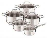 Image of Tefal Intuition SS, Set 10 pces, A702SC84