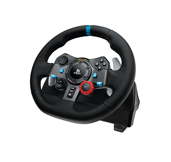 Image of Wheel, Logitech G29 Driving Force Racing Wheel for PlayStation 4, PlayStation 3 and PC (941-000112)