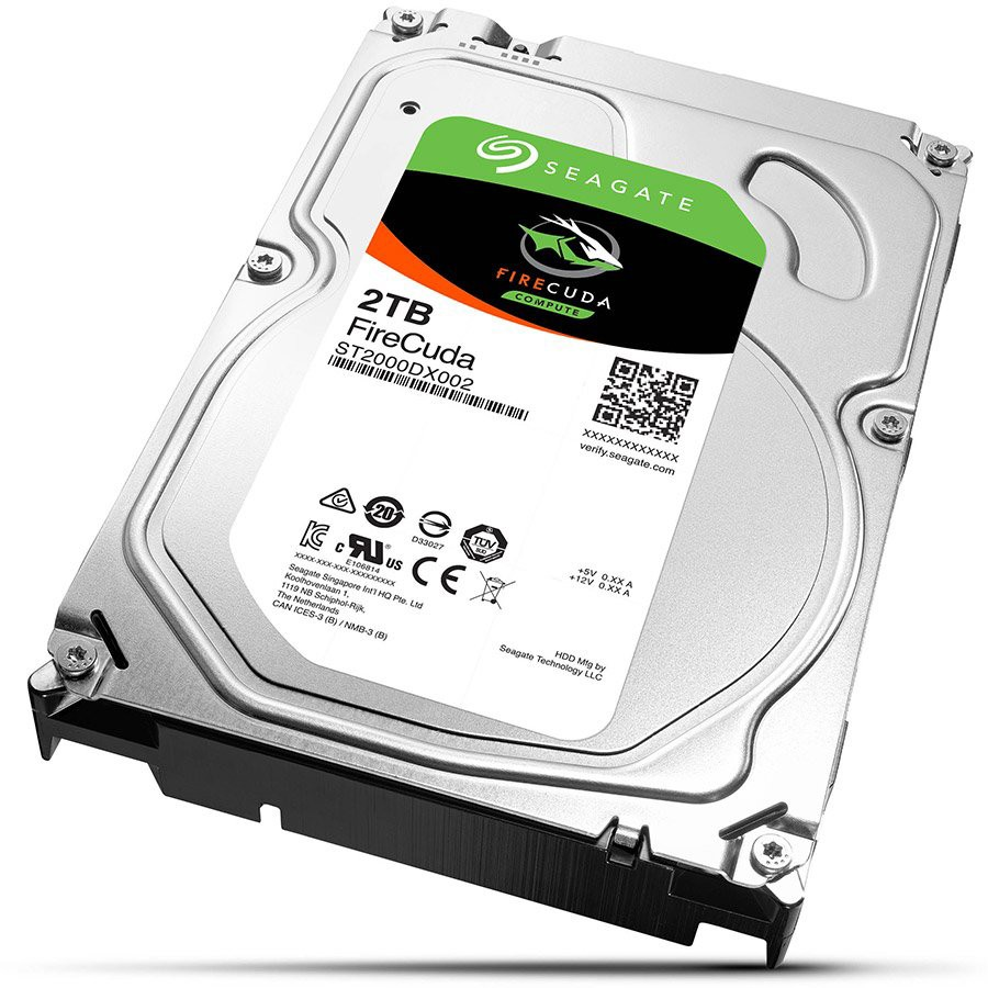 Image of 2000GB, Seagate SSHD Desktop FireCuda Guardian, ST2000DX002