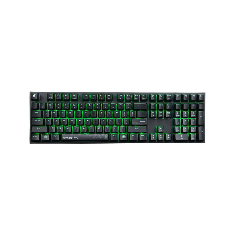 Image of Cooler Master MasterKeys Pro L GeForce GTX Edition, Gaming, MKPLGTX-RED