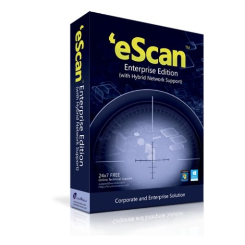 Image of eScan Enterprise Edition for Microsoft SBS, 45 users, ES-SBS-45
