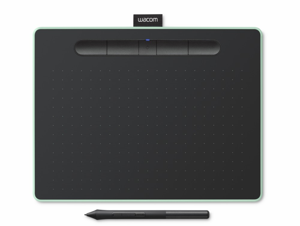 Image of Wacom Intuos M Bluetooth, Pistachio, CTL-6100WLE-N