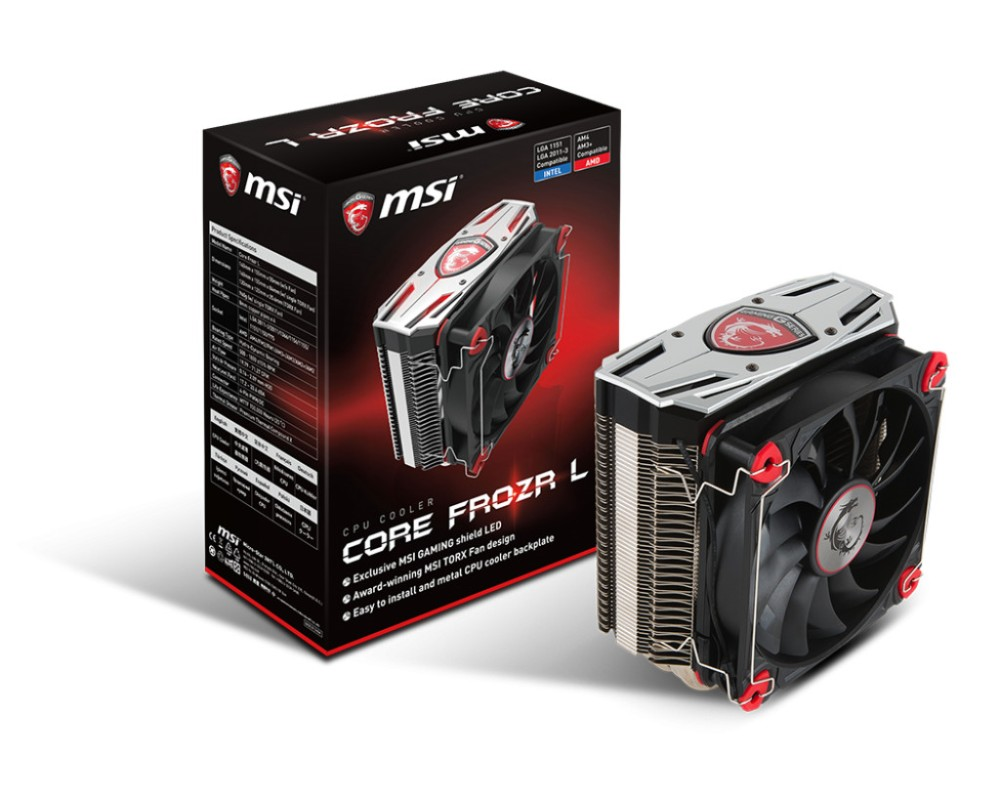 Image of MSI CORE FROZR L, RR-212E-16PK