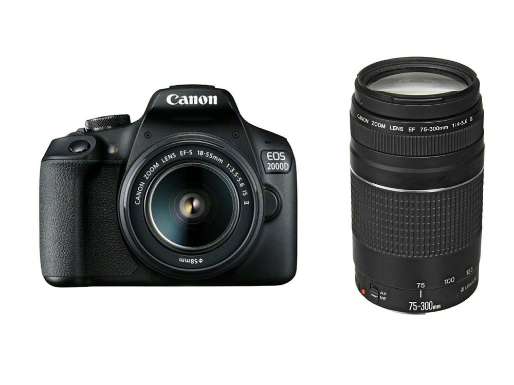 Image of CANON EOS 2000D, EF-S 18-55 IS STM + EF-s 18-55mm f, 2728C031AA