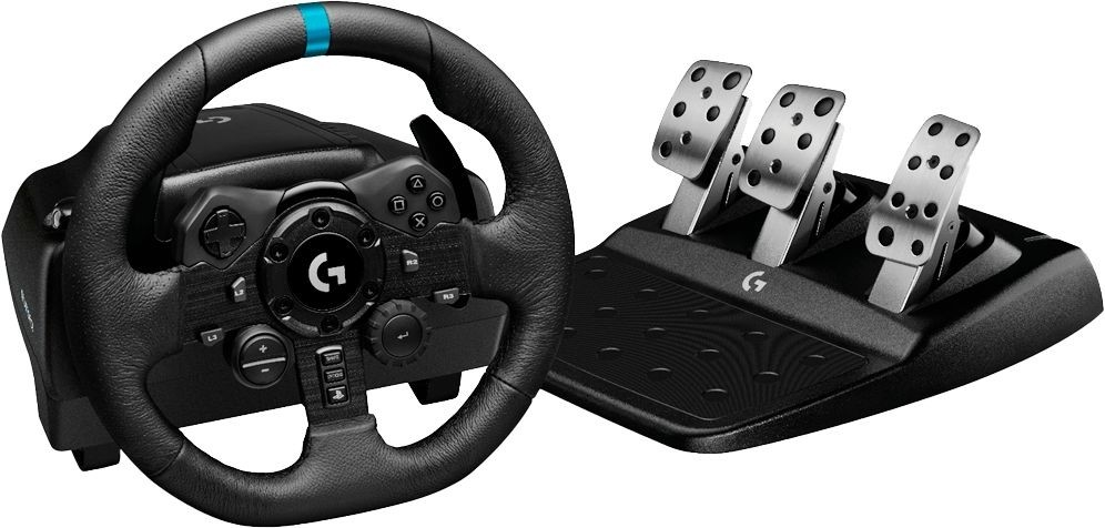 Image of Wheel, Logitech G923 Racing Wheel and Pedals for PS4 and PC (941-000149)