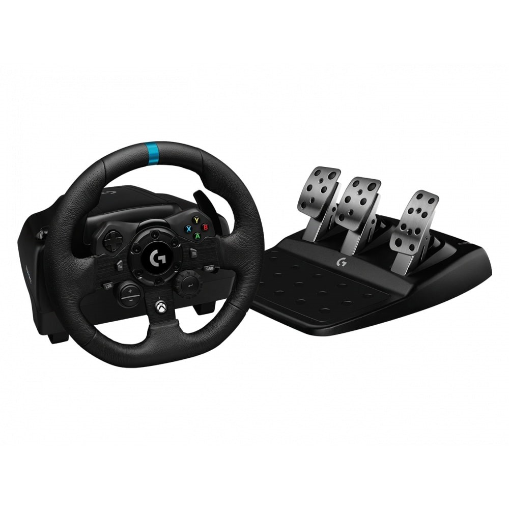 Image of Wheel, Logitech G923 Sim Racing Wheel, Xbox, PC