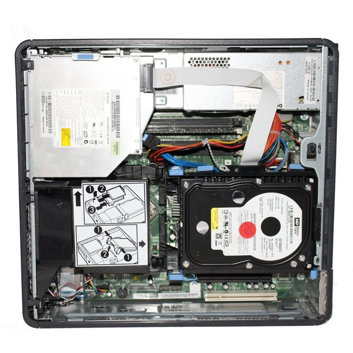 how to open dell optiplex gx620